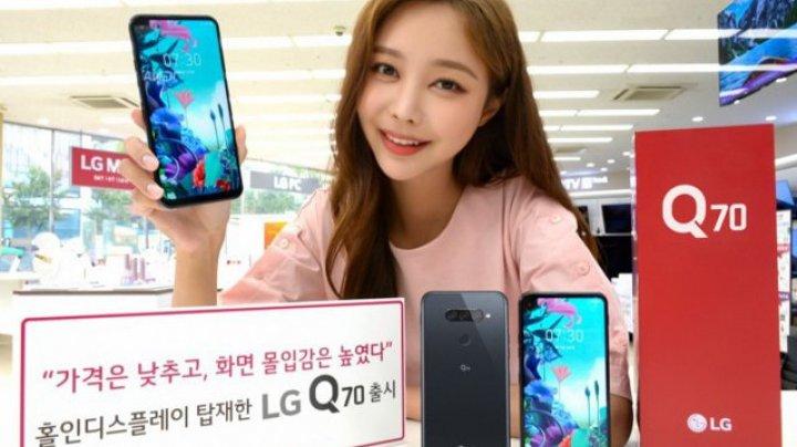 Q70 este primul smartphone LG cu ecran perforat