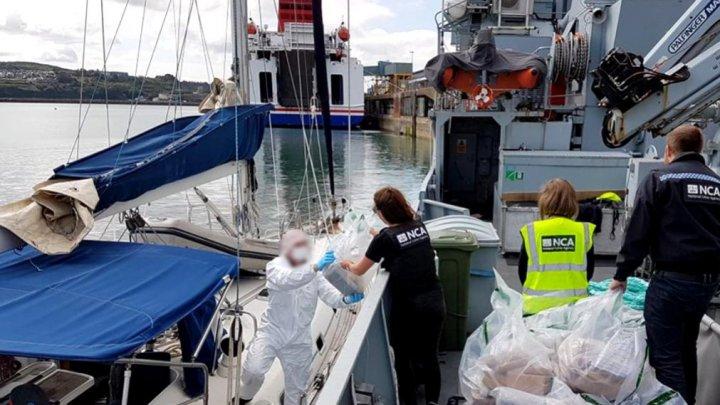 Captură uriașă de cocaină, descoperită pe un iaht în Marea Britanie