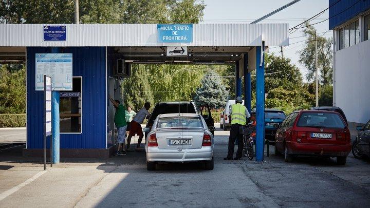Situaţia la frontieră: În unele puncte de trecere a frontierei de stat se înregistrează un flux majorat al unităților de transport