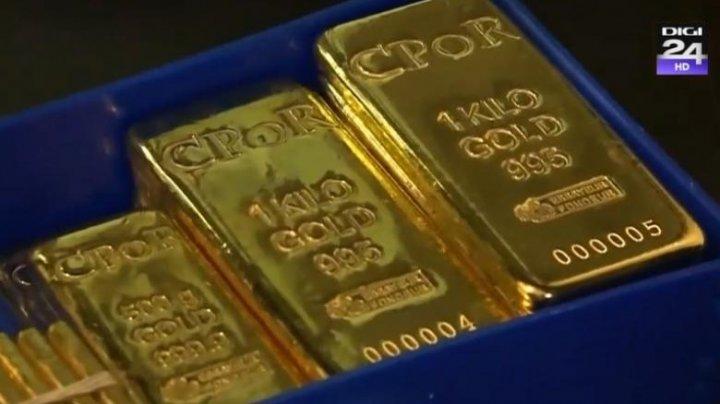 Alertă pe piața aurului: Lingouri fals marcate, găsite inclusiv în seifurile unei mari bănci