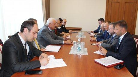 Vasile Şova s-a întâlnit cu Serghei Gubarev. Cei doi oficiali au discutat despre statutul juridic special pentru regiunea transnistreană