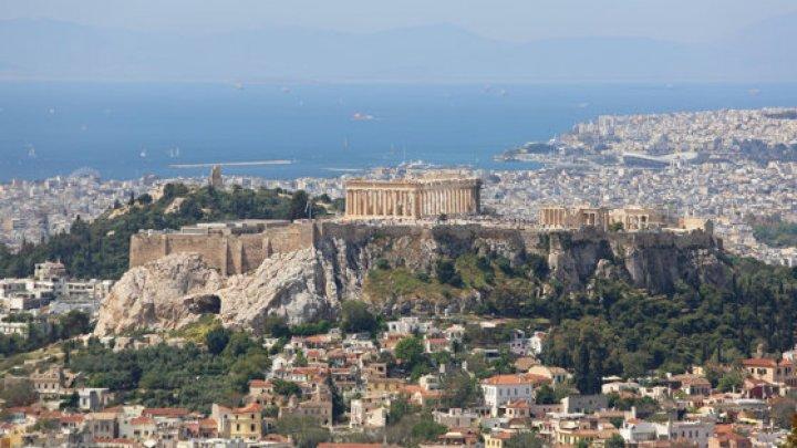 Cutremur de suprafaţă, produs în apropiere de Atena