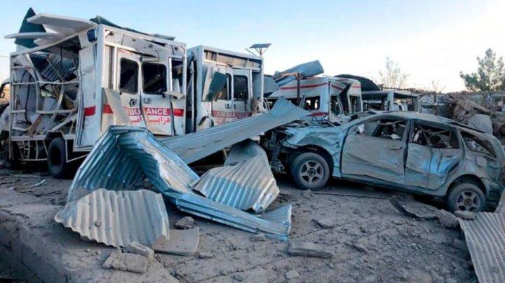 Atentat sângeros în Afganistan: Cel puțin 10 morți și 85 de răniți