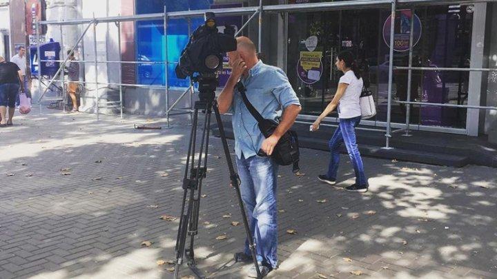 Candidatul la funcția de primar general al Capitalei, Ruslan Codreanu, susţine că este intimidat (FOTO)