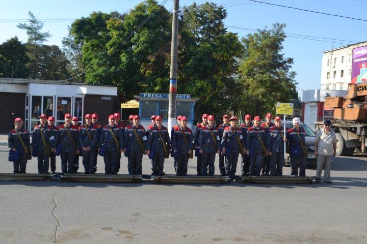Simulare de CUTREMUR în raionul Făleşti. Oamenii au fost ajutați și salvați de pompieri