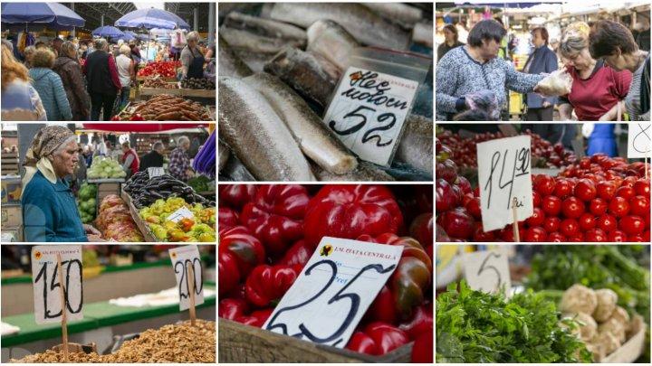 COȘUL PUBLIKA.MD. Cât costă cele mai importante produse alimentare în piețele din Capitală