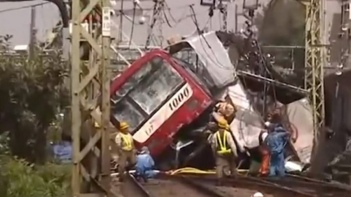 Accident feroviar în SUA: Două trenuri s-au făcut praf