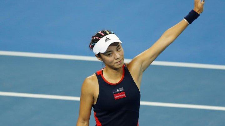 Jucătoarea chineză de tenis Qiang Wang, eliminată la Guangzhou