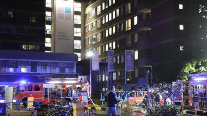 Incendiu de amploare la un spital din Germania: Un mort şi zeci de răniţi, dintre care 11 în stare foarte gravă (VIDEO)