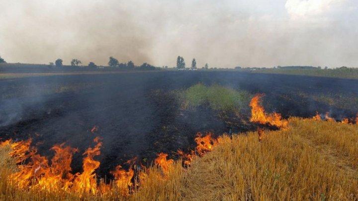 COD GALBEN de pericol excepțional de incendii în toată țara