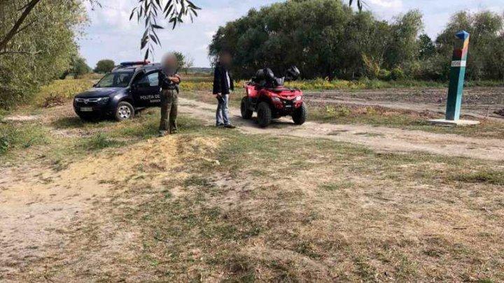Un cetățean ucrainean a încercat să treacă frontiera fără acte de identitate