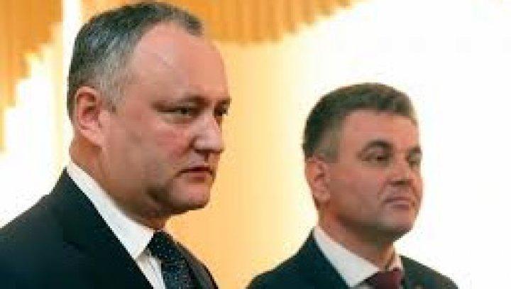 Igor Dodon îi răspunde lui Krasnoselski: Ei multe declaraţii fac, lichidarea armamentului de la Cobasna ţine de Chişinău