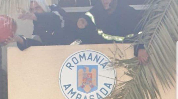INCENDIU LA AMBASADA ROMÂNIEI: Sediul misiunii diplomatice din Irak, cuprins de flăcări
