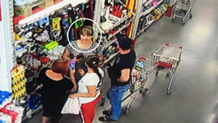 RUŞINE. Ce a făcut o femeie într-un magazin din Bălţi. Aceasta este căutată de poliţie