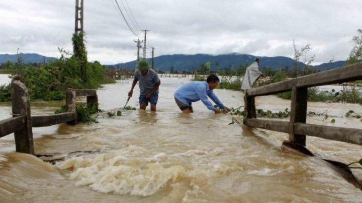 Ploile torenţiale din nordul Vietnamului au făcut cel puțin șase victime
