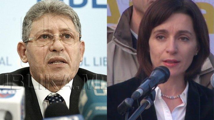 NO COMMENT. Ce i-a amintit liberalul Mihai Ghimpu premierului Maia Sandu
