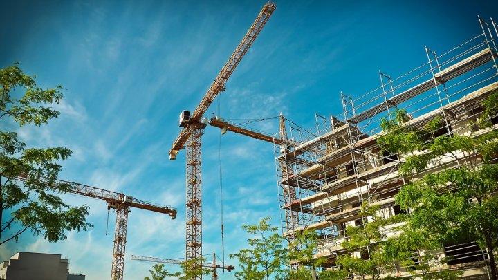 Scade numărul construcțiilor noi în Moldova