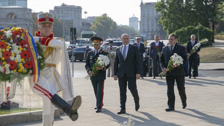 Cum a sărbătorit Armata Naţională a Moldovei cei 28 de ani de la fondare (FOTOREPORT)