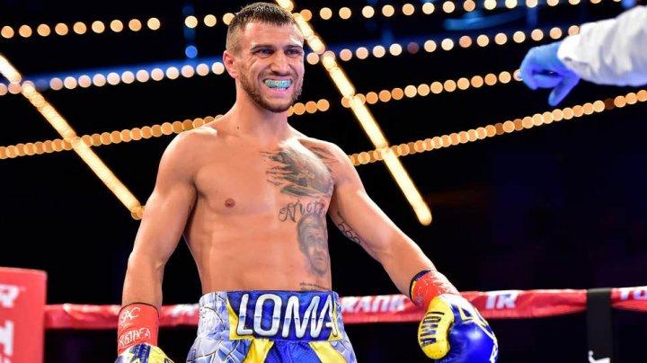 Boxerul ucrainean Vasil Lomacenko a cucerit centura de campion mondial în versiunea WBC