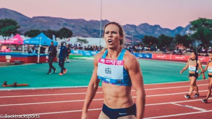 Atletism: Carina Horn, suspendată provizoriu pentru dopaj