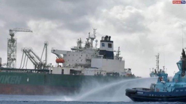 Incendiu la bordul unui petrolier în Norvegia: Sala de motoare, cuprinsă de flăcări