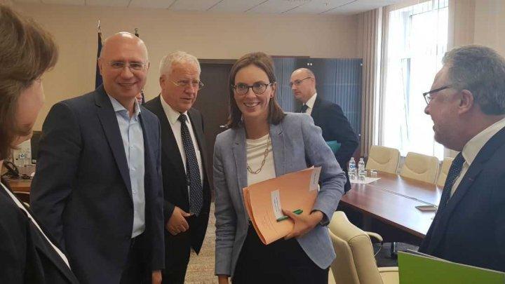 Oficial francez la întrevederea cu Pavel Filip: PDM are o ancorare orientată spre valorile europene și statul de drept
