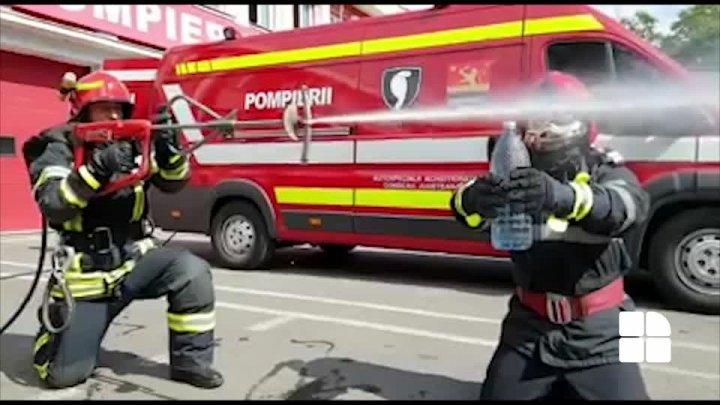 Incendiu la o mănăstire din România, soldat cu pagube materiale