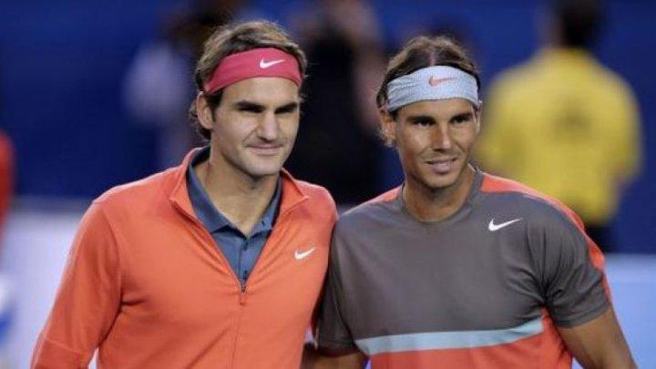 TURNEUL VEDETELOR LA GENEVA. Rafael Nadal şi Roger Federer vor juca în aceeaşi echipă