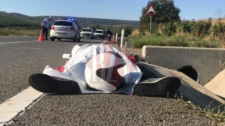 Accident mortal. Un bărbat a decedat, iar soţia sa a fost transportată la spital (FOTO)