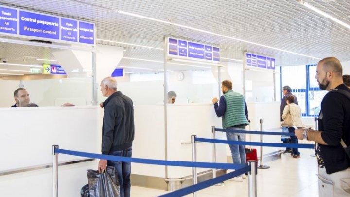 Patru cetățeni ai Iranului, reţinuţi pe Aeroportul din Chişinău. Vezi ce au făcut aceştia