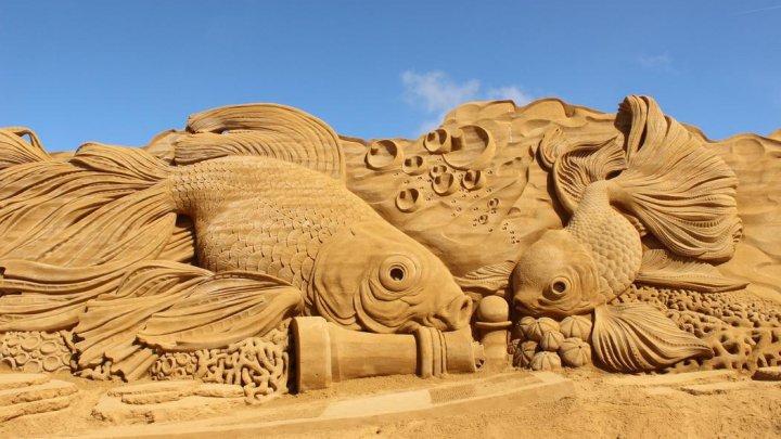 Cei mai talentaţi sculptori în nisip din lume s-au reunit, în Danemarca