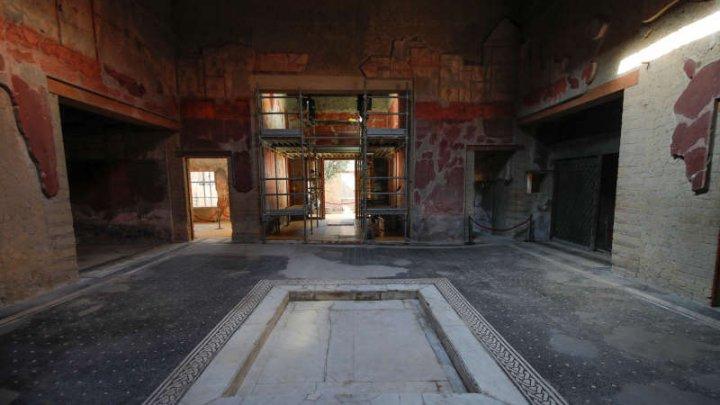 O casă din Roma Antică a fost redeschisă în Herculaneum, după 36 de ani