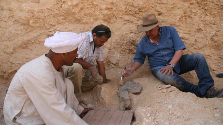 Expediţie cu succes! Au fost descoperite morminte şi ateliere străvechi, din cea de-a 18-a Dinastie egipteană