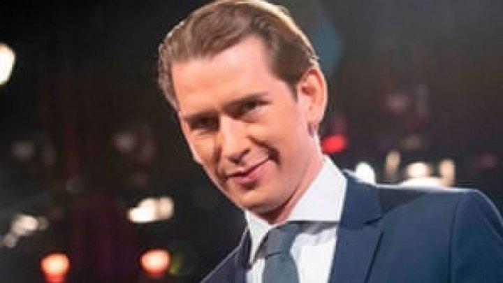 Conservatorul Sebastian Kurz a fost mandatat de preşedinte cu formarea noului guvern