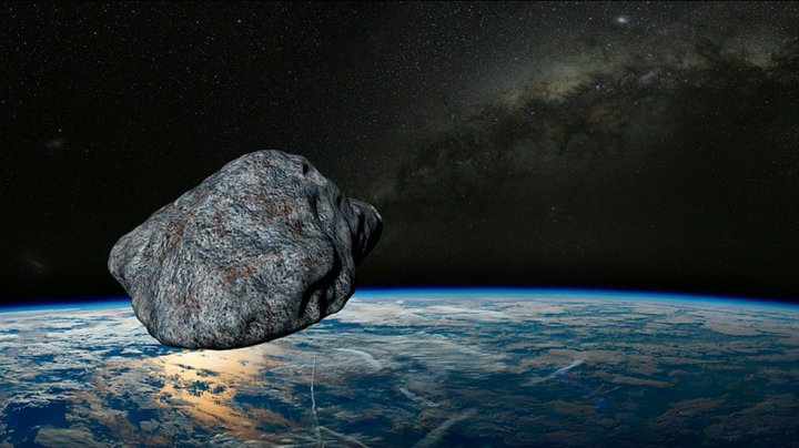 """Un asteroid misterios se apropie de Terra. Astronomii l-au observat """"în ultima clipă"""" (VIDEO)"""
