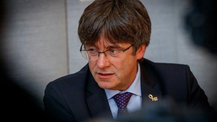 Al treilea mandat de arestare pe numele fostului lider catalan Carles Puigdemont