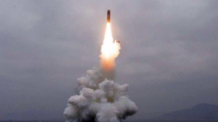 Franţa, Marea Britanie şi Germania cer o reuniune la ONU după testul nord-coreean balistic de pe un submarin