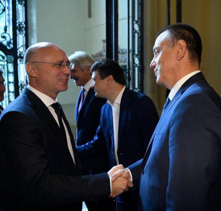 Pavel Filip: Mizăm pe sprijinul Bucureștiului pentru a menține țara noastră pe drumul integrării europene