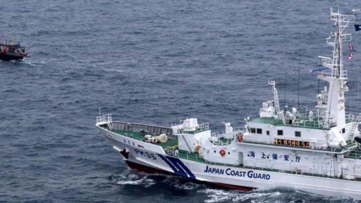Coliziune în zona economică exclusivă a Japoniei. Un vas nord-coreean a lovit o navă de patrulare a Agenţiei japoneze de pescuit