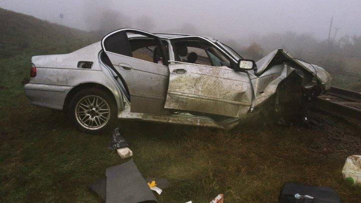 ACCIDENT GRAV la Ceadîr-Lunga. Sunt victime. Două persoane au rămas blocate între fiarele maşinii (FOTO)
