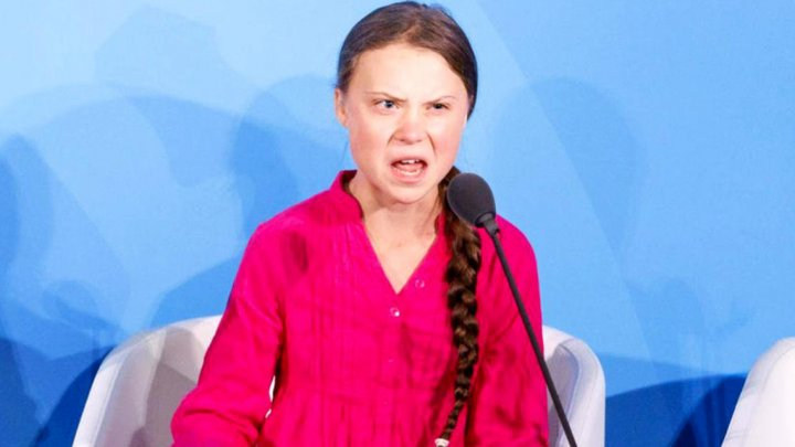 Discursul Gretei Thunberg a fost remixat. Reacția tinerei activiste