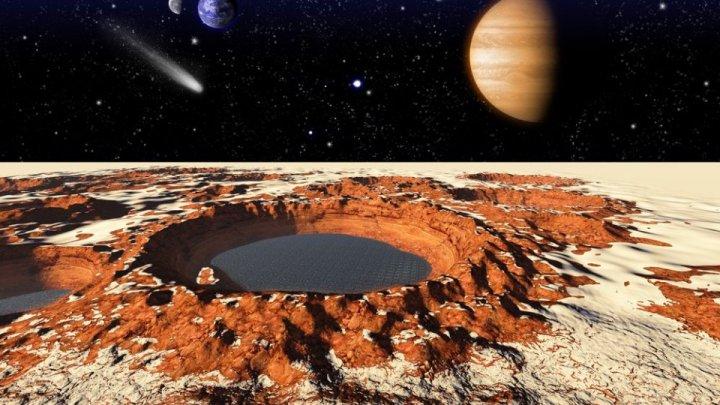 Studiu: Apa de pe Marte s-a evaporat acum 3,5 miliarde de ani