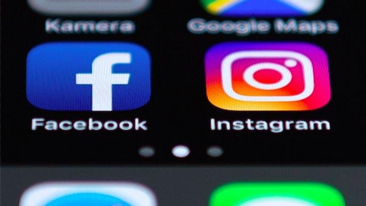Aplicaţiile Facebook şi Instagram au picat în Moldova