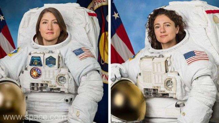 Când va avea loc prima ieşire în spaţiu a două femei astronaut