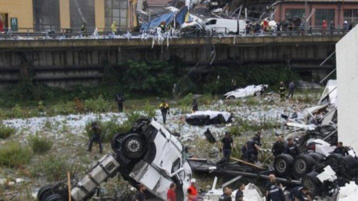 Furtună violentă în Italia. Un bărbat a murit, după ce un pod s-a prăbuşit