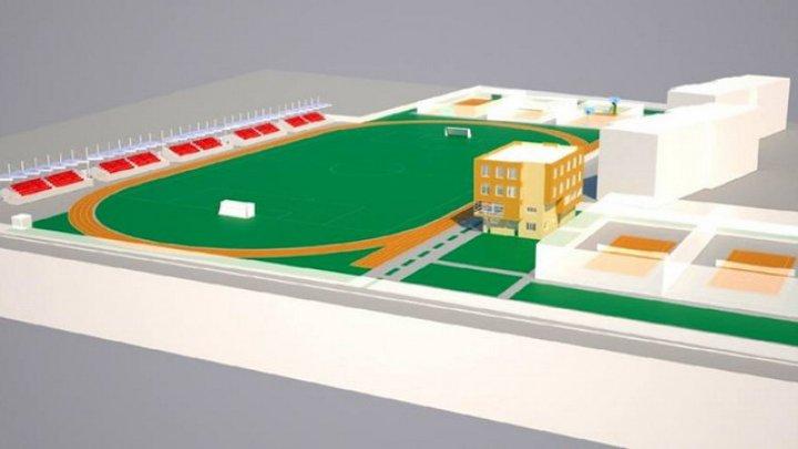 Proiectul social de construcție a Complexului sportiv din Comrat a fost scutit de taxe