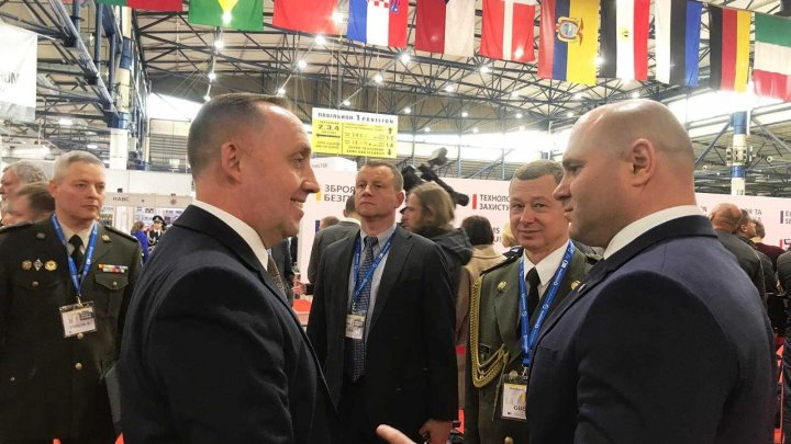 Ministrul Apărării Pavel Voicu, în vizită oficială la Kiev (FOTO)