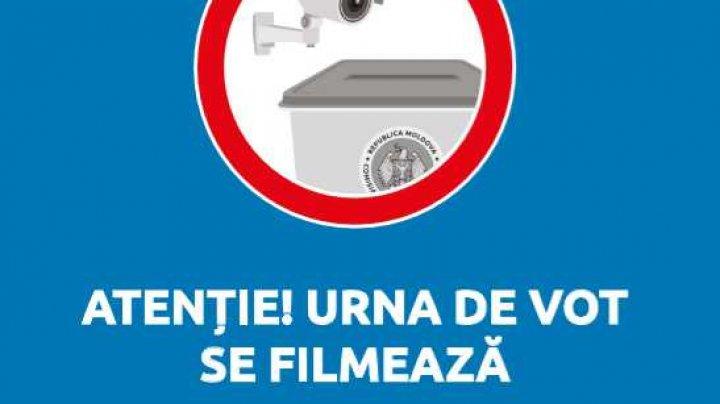 ALEGERI 2019: CEC anunță că în secţiile de vot au fost instalate camere video