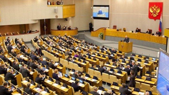 Duma de Stat a Rusiei va suspenda călătoriile deputaţilor săi în SUA