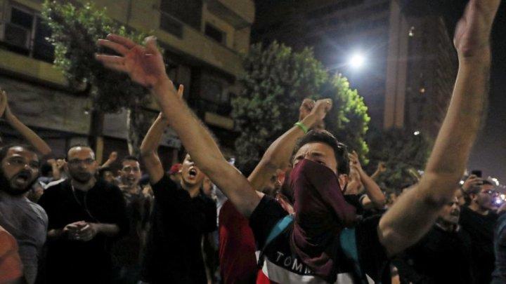 Arestări în masă în Egipt, după protestele împotriva preşedintelui El-Sisi